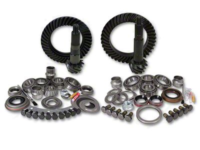 Yukon Gear Dana 30F/44R Ring Gear and Pinion Kit w/ Install Kit - 4.56 Gears (97-06 Jeep Wrangler TJ, Excluding Rubicon)