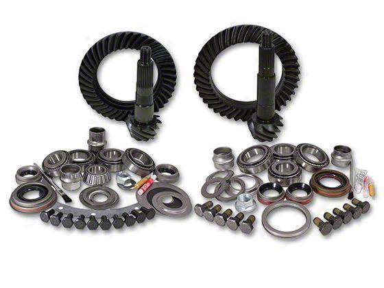 Yukon Gear Dana 30F/44R Ring Gear and Pinion Kit w/ Install Kit - 4.88 Gears (87-95 Jeep Wrangler YJ)