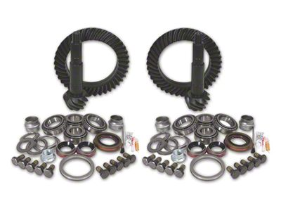 Yukon Gear Dana 44 Front Axle/44 Rear Axle Ring Gear and Pinion Kit w/ Install Kit - 4.11 Gears (07-18 Jeep Wrangler JK Rubicon)