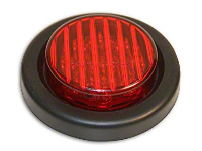 Delta 2.75 in. Round Clearance Light - Red