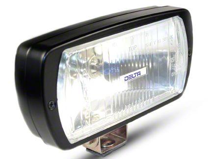 Delta 8x4 in. 220 Series Black Xenon Driving Light