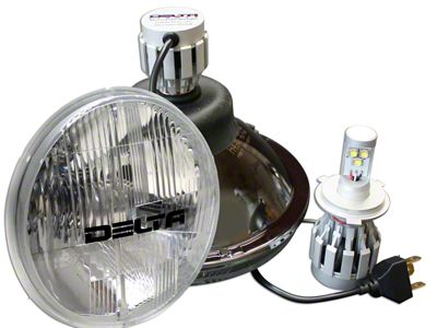 Delta 7 in. LED Headlights w/ LED Blinkers (97-06 Jeep Wrangler TJ)