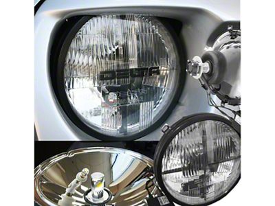 Delta Quad-Bar LED Headlights w/ LED Blinkers (97-06 Jeep Wrangler TJ)