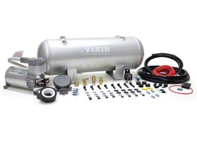 Viair Quarter Duty Onboard Air System (87-18 Jeep Wrangler YJ, TJ, JK & JL)