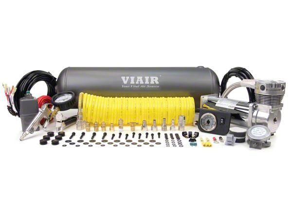 Viair Ultra Duty Onboard Air System (87-19 Jeep Wrangler YJ, TJ, JK & JL)