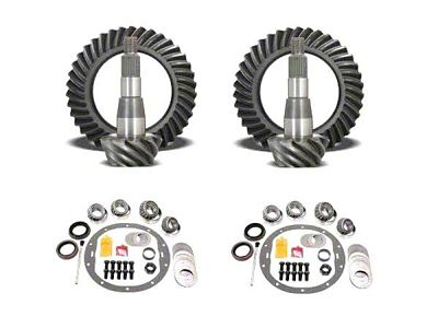USA Standard Dana 44 Ring Gear and Pinion Kit w/ Install Kit - 4.56 Gears (03-06 Jeep Wrangler TJ Rubicon)