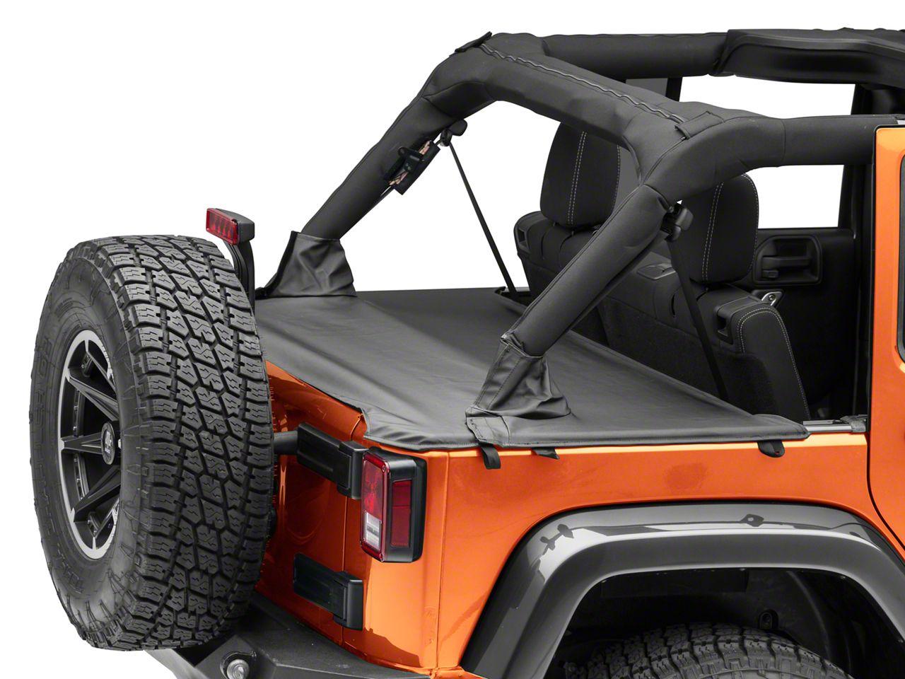 MasterTop Tonneau Cover - Black Diamond (07-18 Jeep Wrangler JK 4 Door)