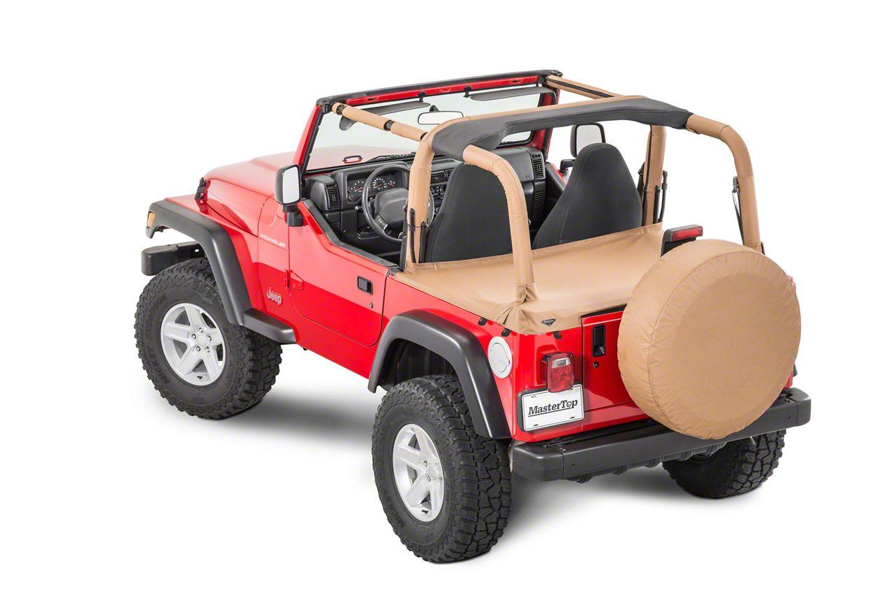 MasterTop Tonneau Cover - Spice Denim (97-02 Jeep Wrangler TJ)
