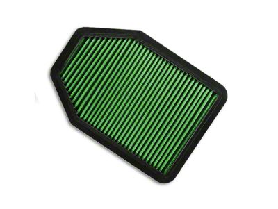 Green Filter Drop-In Replacement Air Filter (07-18 3.6L or 3.8L Jeep Wrangler JK)