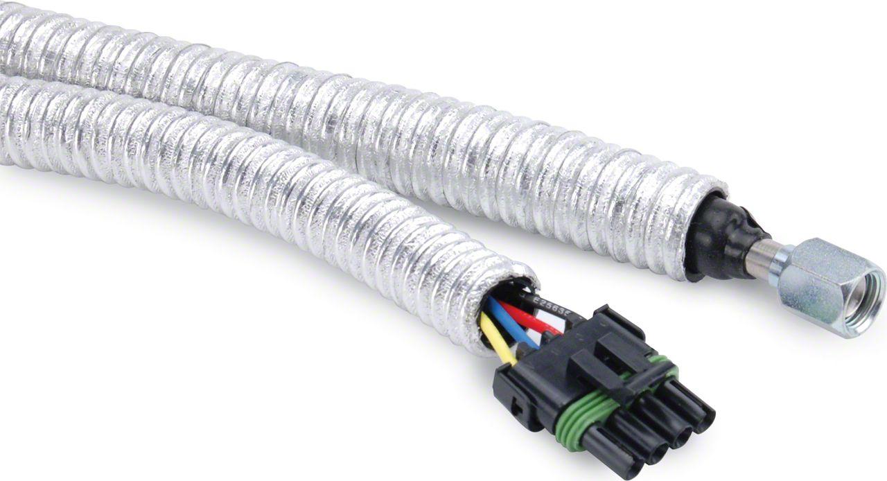DEI Cool Tube Thermal Protection (87-18 Jeep Wrangler YJ, TJ, JK & JL)