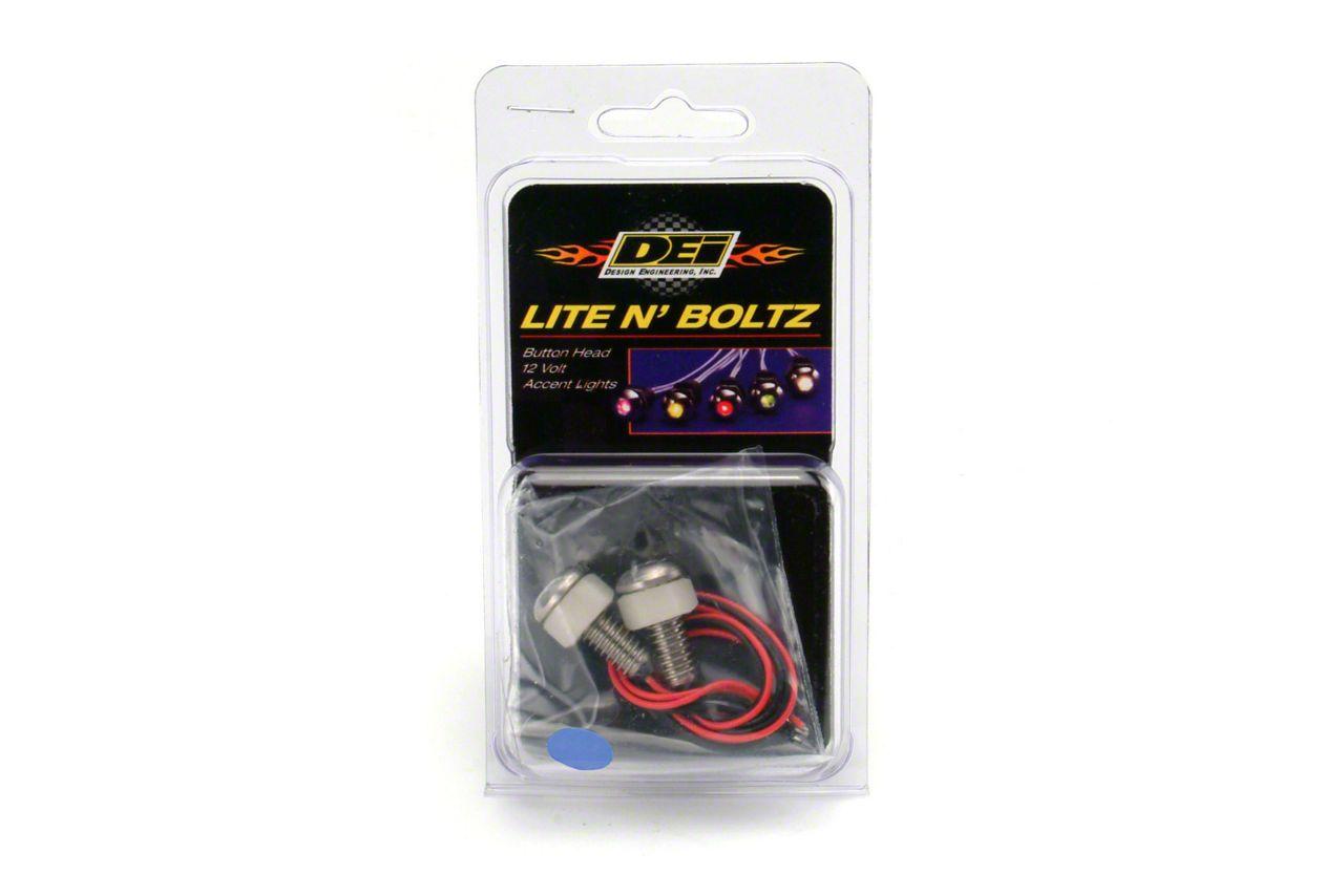 DEI LED Lite N Boltz Accent Lighting - Blue (87-18 Jeep Wrangler YJ, TJ, JK & JL)