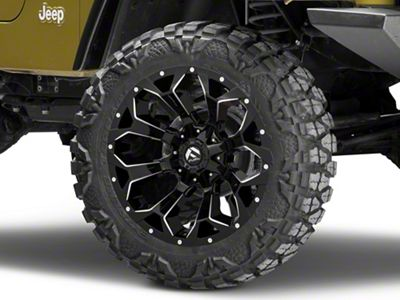 Fuel Wheels Assault Gloss Black Wheel - 20x10 (87-06 Jeep Wrangler YJ & TJ)