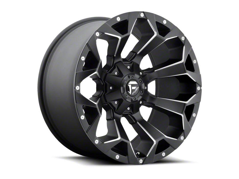 Fuel Wheels Assault Matte Black Milled Wheel - 15x8 (87-06 Jeep Wrangler YJ & TJ)