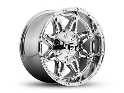 Fuel Wheels Hostage Chrome Wheel - 17x8.5 (87-06 Jeep Wrangler YJ & TJ)