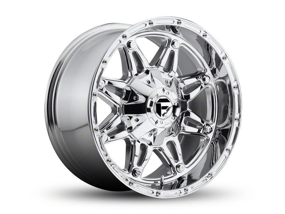 Fuel Wheels Hostage Chrome Wheel - 17x8.5 (87-06 Jeep Wrangler YJ & TJ)