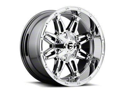 Fuel Wheels Hostage PDR Chrome Wheel - 17x9 (87-06 Jeep Wrangler YJ & TJ)