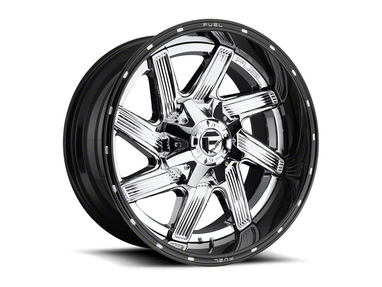 Fuel Wheels Moab Chrome Wheel - 20x12 (87-06 Jeep Wrangler YJ & TJ)