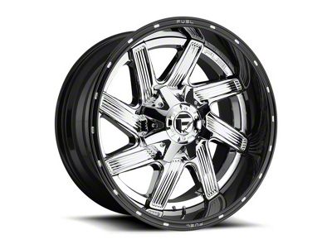 Fuel Wheels Moab Chrome Wheel - 22x12 (87-06 Jeep Wrangler YJ & TJ)