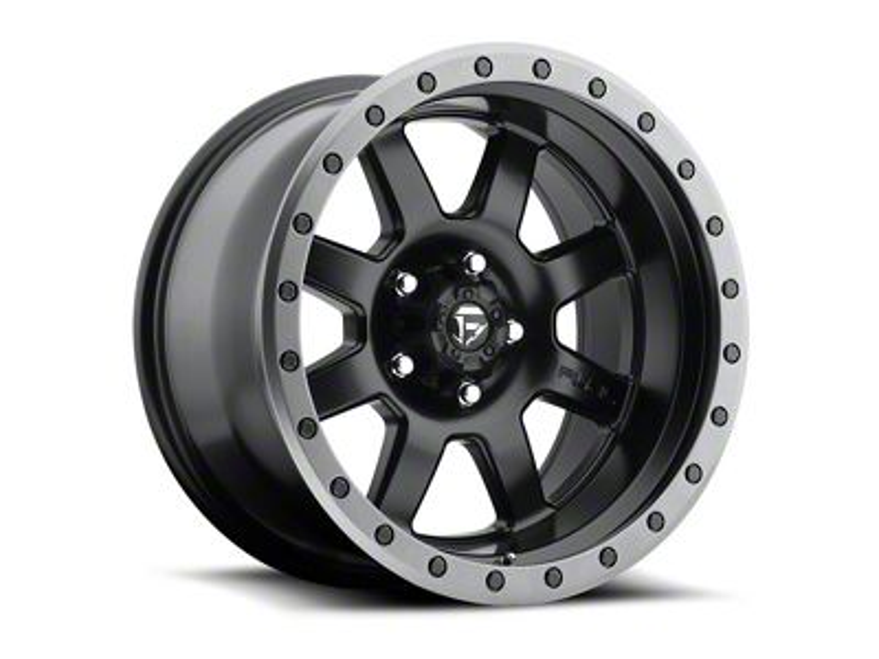 Fuel Wheels Trophy Matte Black Wheel - 20x9 (87-06 Jeep Wrangler YJ & TJ)