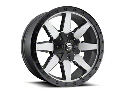 Fuel Wheels Wildcat Gun Metal Wheel - 17x9 (87-06 Jeep Wrangler YJ & TJ)
