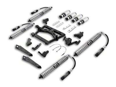 Rubicon Express Front/Rear Coilover Upgrade Kit w/ Air Bumps (07-18 Jeep Wrangler JK 4 Door)