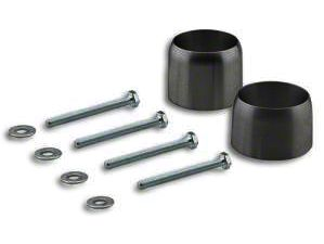 Rubicon Express Exhaust Spacer Kit for 2.5+ in. Lift (12-18 Jeep Wrangler JK)
