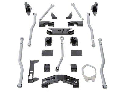 Rubicon Express Extreme-Duty 4-Link Front / 3-Link Rear Long Arm Upgrade Kit (07-18 Jeep Wrangler JK)