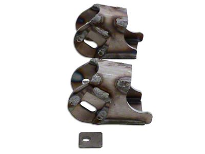 Rubicon Express Front Axle Lower Control Arm Mounts (07-18 Jeep Wrangler JK)