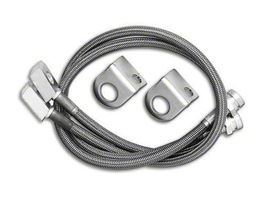 Rubicon Express Front Stainless Steel Brake Lines for 2.5-7 in. Lift (87-95 Jeep Wrangler YJ)