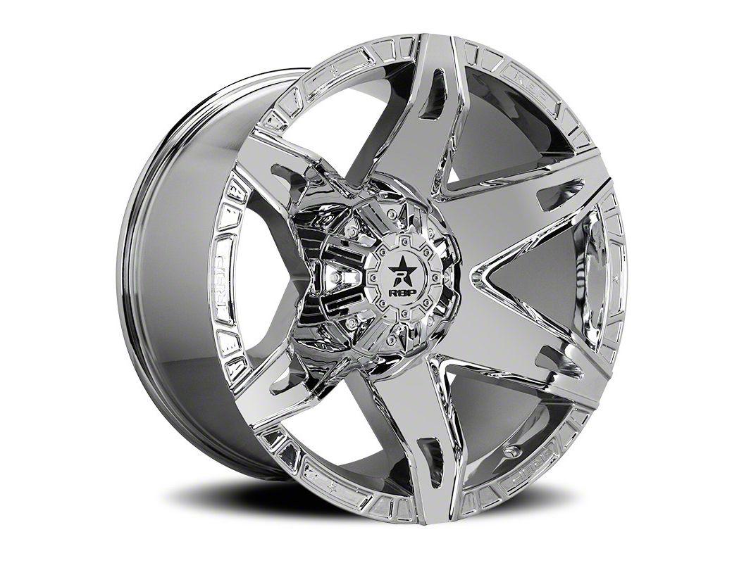 RBP 70R Quantum Chrome Wheel - 22x12 (87-06 Jeep Wrangler YJ & TJ)
