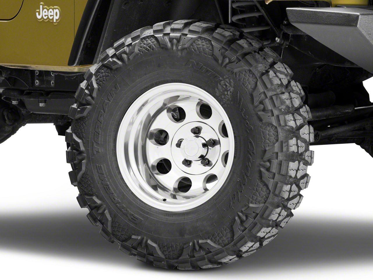 Pro Comp Series 1069 Polished Wheel - 15x10 (87-06 Jeep Wrangler YJ & TJ)