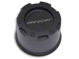 Pro Comp Series 29 Push Thru Satin Black Center Cap (87-18 Jeep Wrangler YJ, TJ, JK & JL)