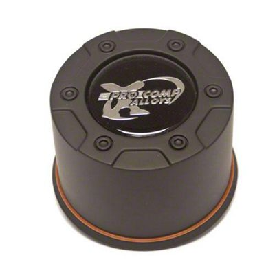 Pro Comp Series 38 Push Thru Satin Black Center Cap