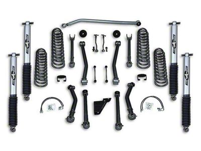Rubicon Express 3.5 in. Super-Flex Progressive Coil Spring Lift Kit (07-18 Jeep Wrangler JK 2 Door)