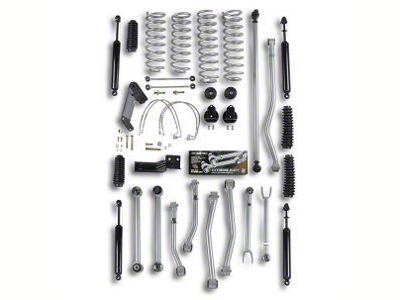 Rubicon Express 4.5 in. Super-Flex Short Arm Lift Kit (07-18 Jeep Wrangler JK 2 Door)