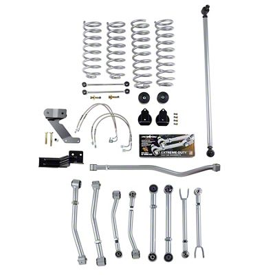 Rubicon Express 4.50 inch Super-Flex Suspension Lift Kit (07-18 Jeep Wrangler JK 2 Door)