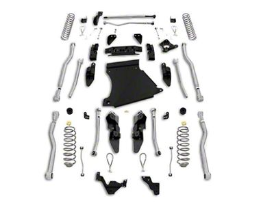 Rubicon Express 5.5 in. Extreme-Duty 4-Link Long Arm Lift Kit (07-18 Jeep Wrangler JK 2 Door)