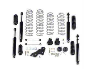 Rubicon Express 2.5 in. Standard Coil Spring Lift Kit (07-18 Jeep Wrangler JK 4 Door)