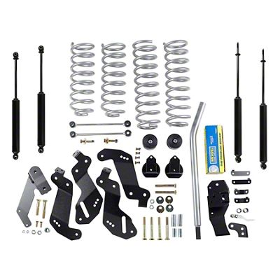 Rubicon Express 3.5 in. Progress Coil Spring Sport Lift Kit (07-18 Jeep Wrangler JK 4 Door)