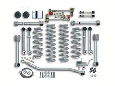 Rubicon Express 3.5 in. Super-Flex Short Arm Lift Kit (07-18 Jeep Wrangler JK 4 Door)
