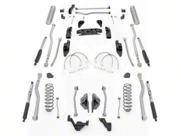 Rubicon Express 4.5 in. Extreme-Duty 4-Link Long Arm Lift Kit (07-18 Jeep Wrangler JK 4 Door)