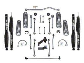Rubicon Express 4.5 in. Super-Flex Suspension Lift Kit (07-18 Jeep Wrangler JK 4 Door)