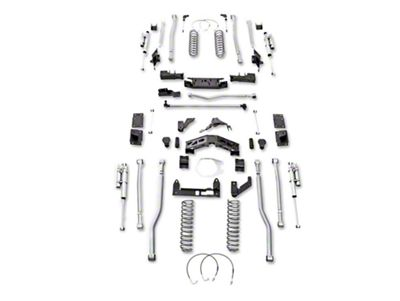 Rubicon Express 5.5 in. Extreme-Duty 4-Link Front/Rear 3-Link Long Arm Lift Kit (07-18 Jeep Wrangler JK 4 Door)