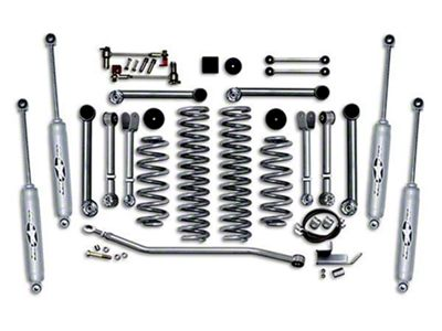 Rubicon Express 4.5 in. Super-Flex Short Arm Lift Kit (97-06 Jeep Wrangler TJ)
