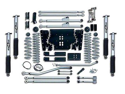 Rubicon Express 5.5 in. Extreme-Duty Long Arm Lift Kit w/ Rear Track Bar (04-06 Jeep Wrangler TJ Unlimited)