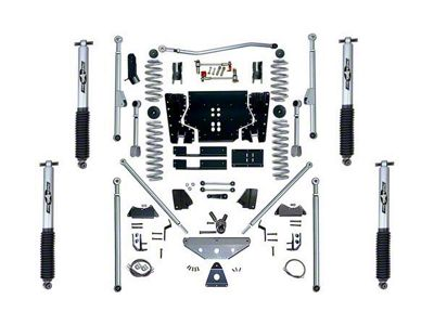 Rubicon Express 5.5 in. Extreme-Duty Long Arm Lift Kit w/ Rear Tri-Link (97-02 Jeep Wrangler TJ)