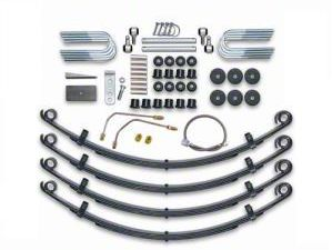 Rubicon Express 2.5 in. Standard Leaf Spring Lift Kit (87-95 Jeep Wrangler YJ)