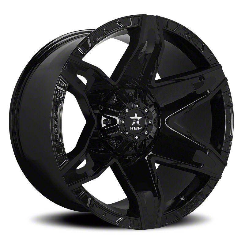 RBP 70R Quantum Gloss Black Wheel - 20x10 (87-06 Jeep Wrangler YJ & TJ)