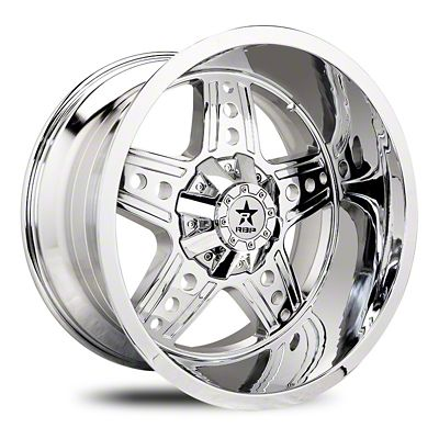 RBP 90R Colt Chrome Wheel - 22x12 (87-06 Jeep Wrangler YJ & TJ)