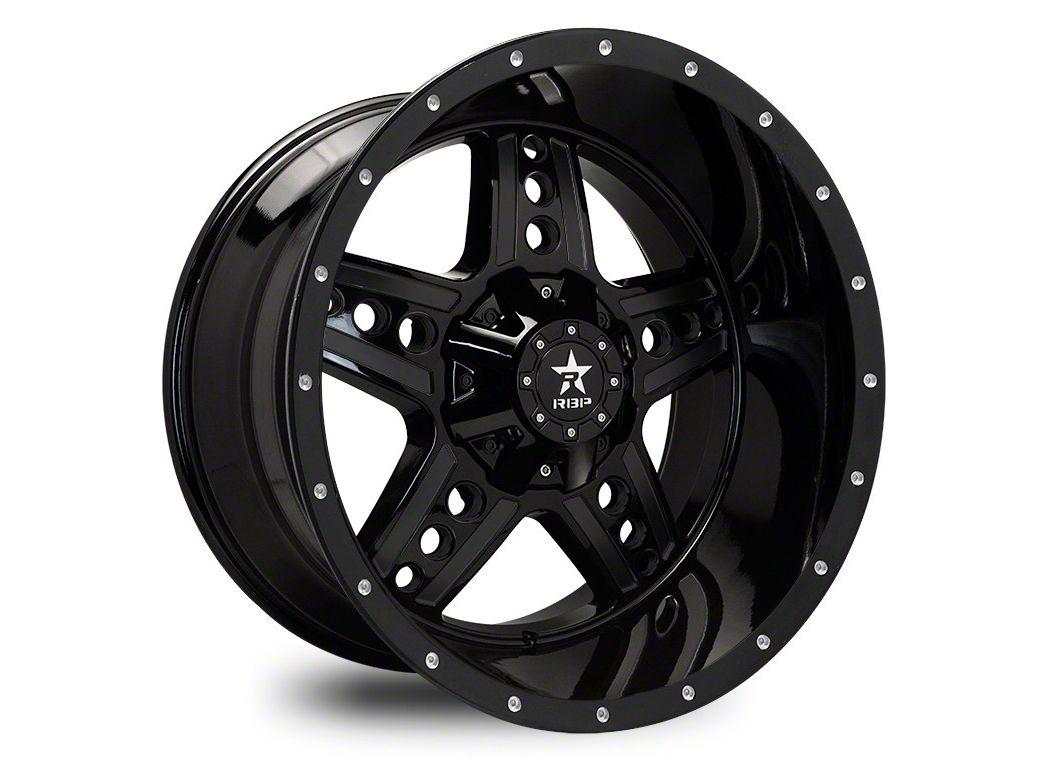 RBP 90R Colt Gloss Black Wheel - 22x12 (87-06 Jeep Wrangler YJ & TJ)